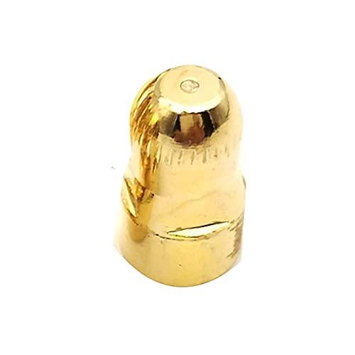 YYQQ Soldadura Hilo con Gas Consejos Plasma Cortador antorcha consumibles, boquillas de Plasma de Aire P80 CNC Cuchillo de Corte Boquilla de electrodo 20pcs Soldadura de Hilo