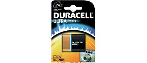 DURACELL PILE bouton lithium ULTRA M3 Photo Cod. 39,9223,25 (modèle 245 ULTRA M3 (Photo) 2CR5 Lot : 1 pcsBlister-Tension : 6 V-Capacité : 1600mAh-Dimensions : x x H L.17,0 P.45,0 .34,0 mm-Poids : 42gr