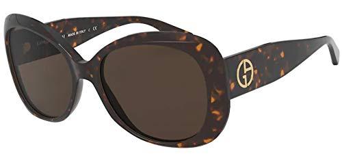 Giorgio Armani Sonnenbrille AR8132 502673 Brille Damen Farbe Havana Linse marrone Größe 56 mm