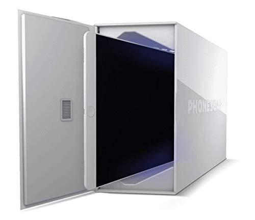 PhoneSoap PSXL-W UV-C Desinfección Dispositivo para Tabletas, Blanco