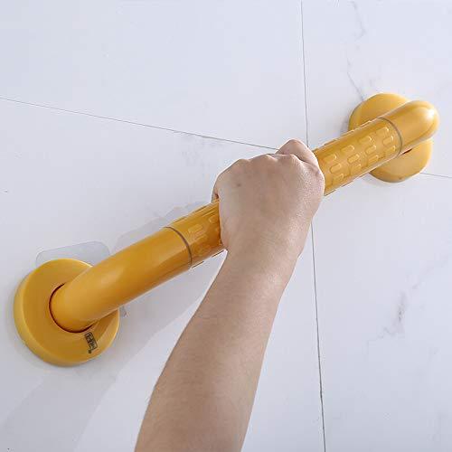 16LYP Badezimmer Haltegriff, Struktur Weiß Teilchen, Putz, ältere Anti-Skid bruchsicheren Griff Geländer (Color : Yellow, Size : 68cm)