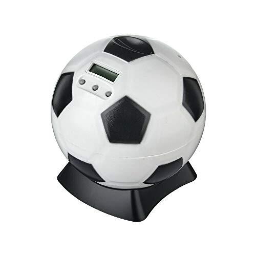 N&F Digital Fußball Sparschwein Spardose Sparbüchse mit Zählwerk Münzzähler Display
