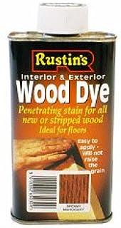 Rustins Interior y exterior de madera tinte 250ml Castaño ...