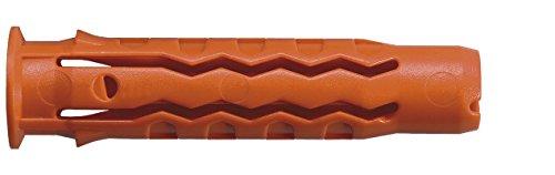 Mungo MQLK-STB Universal-Fassadendübel mit Kragen und Bund-Schraube, 6 x 30 mm, 100 Stücke, 1060312