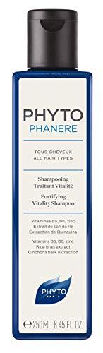 Phyto Phytophanere Shampoo Fortificante Rivitalizzante, per Tutti i Tipi di Capelli - 250 ml