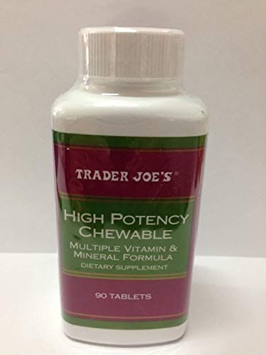Trader Joe's High Potency Chewable, 90 Tablets