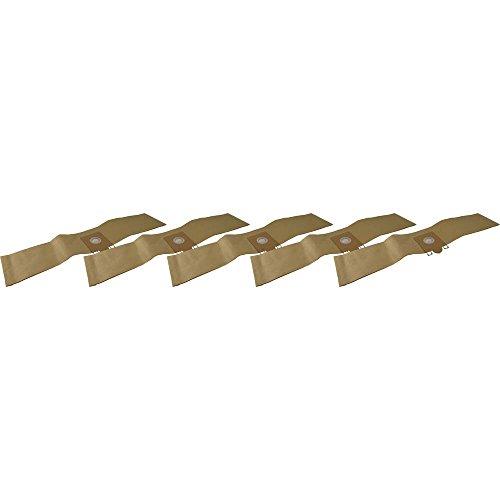 5 bolsas de aspiradora de papel altamente resistente aptas para Nilfisk GD 110.
