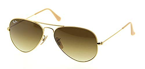 Ray-Ban Aviator RB3025 112/85 Matte Gold / Brown Gradient Gr.58