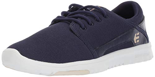 Etnies Damen Scout Sneaker, Navy/Gold 470, 37 EU