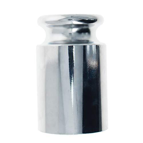 Utoolmart Juego de pesas de calibración 1 kg M1 de acero cromado de precisión para balanzas digitales, 1 unidad