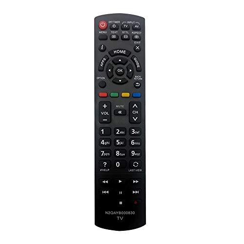 MYHGRC nuovo telecomando N2QAYB000830 per telecomando Panasonic viera smart LED LCD TV TX-L32EN63 TX-39ASW504 TX-39AS600Y TX-39ASW604 TX-42AS500E TX-L42E6EK TX-42AS500Y TX-42AS600Y TX-50AS500Y