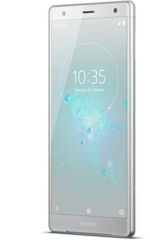 Sony Xperia XZ2 Smartphone (14,5 cm (5,7 Zoll) IPS Full HD+ Display, 64 GB interner Speicher und 4 GB RAM, Dual-SIM, IP68, Android 8.0) Liquid Silver - Deutsche Version