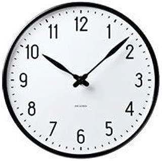 【正規取扱店】 ROSENDAHL ローゼンダール Arne Jacobsen アルネ・ヤコブセン Wall Clock ウォールクロック Station ステーション Φ160mm (ステーション)