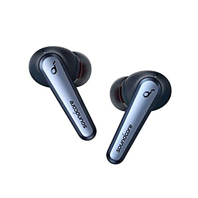Anker Soundcore Liberty Air 2 Pro True Wireless Earbuds, Targeted Active Noise Cancelling, PureNote Technology, LDAC, 6 Mics for Calls, 26H Playtime, HearID Personalized EQ, Wireless Charging by Anker