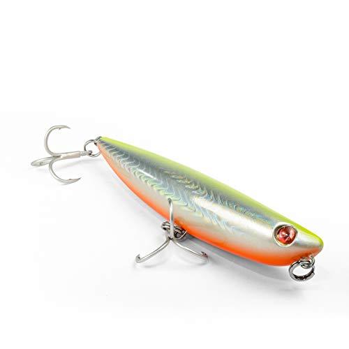 Seaspin Pro-Q 120 artificiale per la Pesca in Mare, GBA, 120 mm