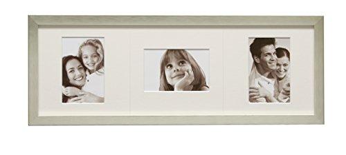 Deknudt Frames S41VL3 13 x 18 Cornice Grigio Argento Resina