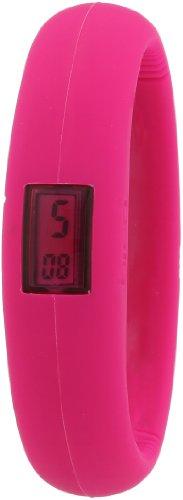 Breo Mädchen-Armbanduhr Bangle Watch Digital Kautschuk B-TI-BGL3M