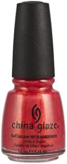 China Glaze Nail Lacquer, Jamaican Out, 0.5 Fluid Ounce