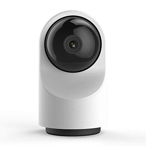 ZTKBG Smart-Dome bewakingscamera, Powered 1080p WiFi IP-thuisbewakingssysteem met 24/7 emmergency response, menselijke detectie, geluid analytics, zoeken, 0g