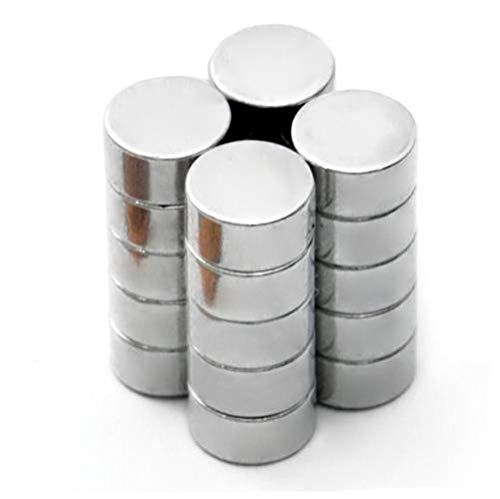 Lot de 100 aimants ronds magnétiques pour vitres