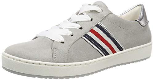 Jenny Damen BALLINA 2256404 Sneaker, Grau (Pebble, Silber 70), 38 EU
