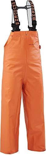 Grundéns Youth Clipper 117 Fishing Bib Pant, Orange - 10 Years