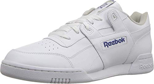 Reebok Herren Workout Plus Sneaker, Weiß (Wht/Royal), 40 EU