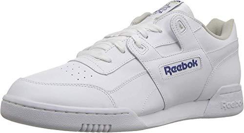 Reebok Unisex-Erwachsene Workout Plus Low-Top, Weiß (White/Royal), 42.5 EU