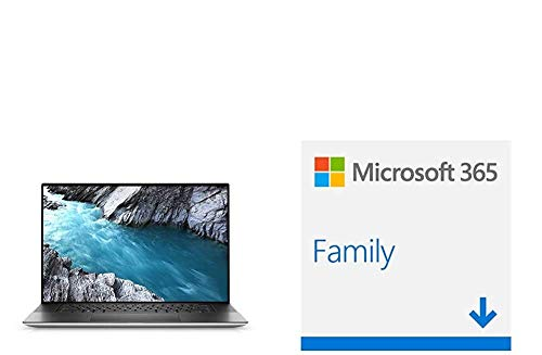 Dell ,XPS 17 9700 ,10th Generation Intel® Core™ i7-10875H (16MB Cache, up to 5.1 GHz, + Microsoft 365 Family | 6 Nutzer | Download