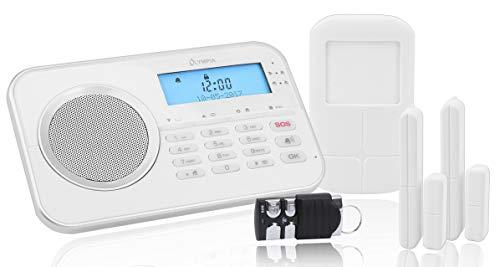 OLYMPIA Protect 9868 GSM Haus Alarmanlage Funk Alarmsystem mit App