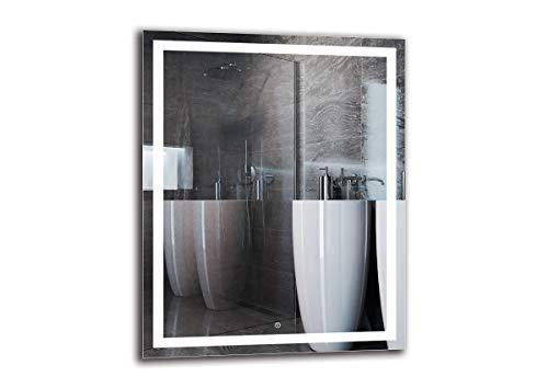 Espejo LED Deluxe   Dimensiones Espejo 80x100 cm