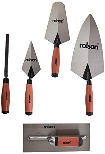 Rolson Tools 52489 - Paleta llana (5 unidades)