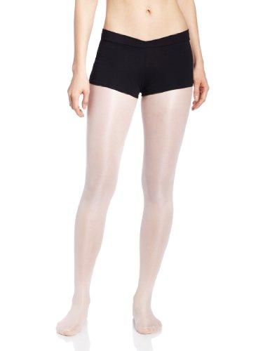 Capezio Women's V-Front Boy Short,Black,X-Small