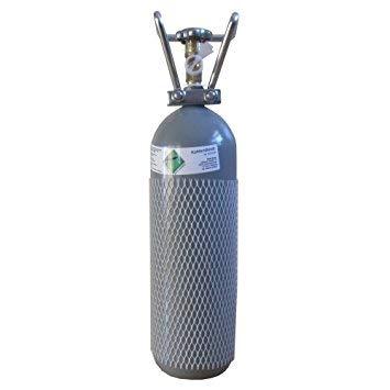 Soda&Fruit CO2 2KG Flasche gefüllt & FABRIKNEU! mit Lebensmittel CO2 (E290) Kohlensäure TÜV 2030