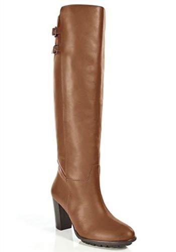 Stiefel von Apart aus Leder in Cognac Gr. 42