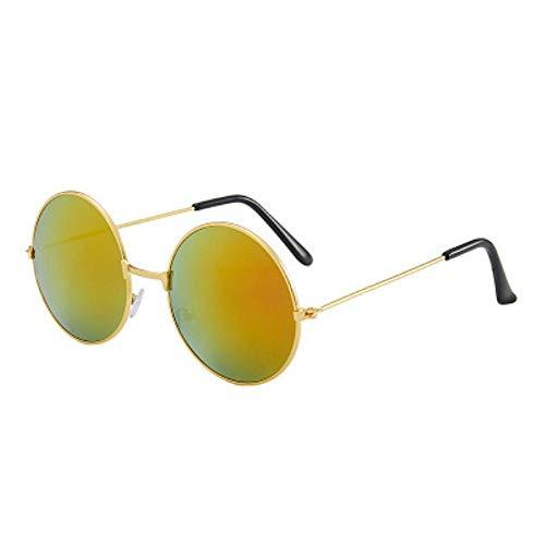 DIF Ronde Zonnebril Vrouwen Zonnebril Lens Legering Zonnebril vrouwelijke Oogkleding Frame Driver Goggles Auto Accessoires