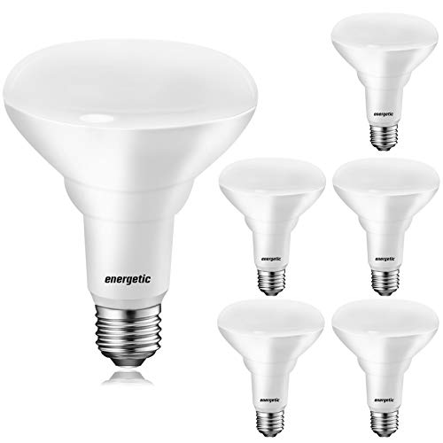 BR30 LED Recessed Light Bulb, 11W=75W, 2700K Soft White, 900LM, Dimmable Ceiling Flood Light Bulb for Cans, CRI85+, UL Listed, 6-Pack