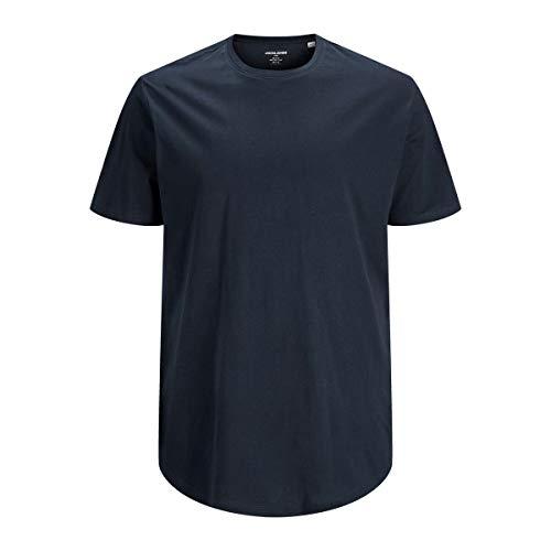 Jack & Jones Jjenoa Tee SS Crew Neck PS T-Shirt, Blazer Bleu Marine, 6XL Homme