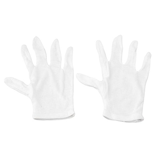 Best Prices! Homswitch 1 Pair White Cotton Music Instruments Formal Dress