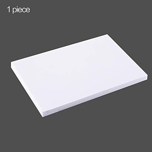 LOKIH Tablero De Espuma para Artes, Manualidades, Proyectos,Escenas Arquitectónicas Y Diorama, Etc 30X40cm / 11.8X15.7Inch, Blanco,Thick:3cm