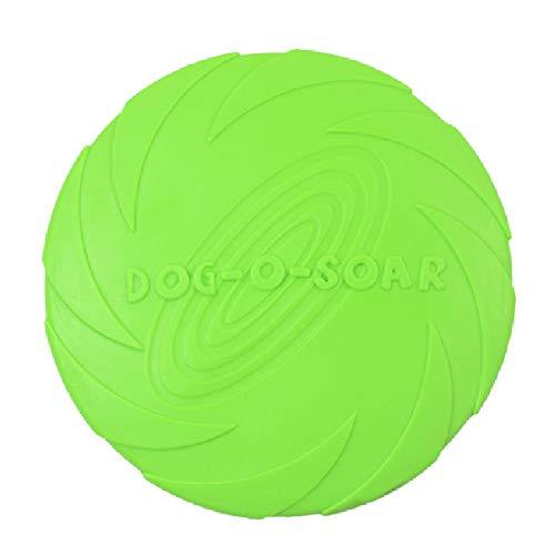 Hirkase De Silicona para Mascotas Frisbee
