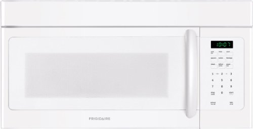 Frigidaire FFMV162LW 1.6 Cu. Ft. White Over-the-Range Microwave
