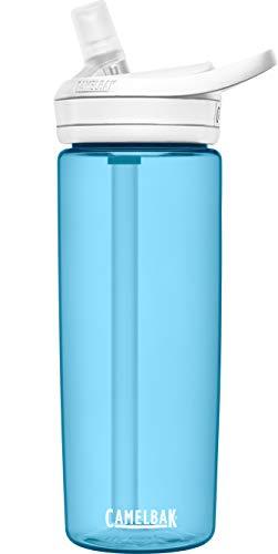 CAMELBAK Eddy+ Botella de agua sin BPA con pajita, 20 onzas, (azul verdadero)
