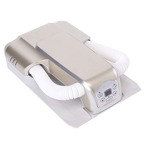 Cacoffay Ajustable Doblez Vertical y Horizontal Secador de Zapatos Casa Multifuncional Desodorización Esterilización Invierno Adulto Sincronización Secador de Aire Caliente