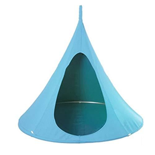 ZZBB Silla De Columpio para Hamaca para Niños Asiento De Columpio para Vaina Silla De Columpio para Hamaca Silla Impermeable para Hamaca para Niños con Sistema Colgante,Blue