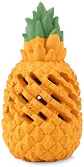 Pineapple Dog Chew Toys for Aggressive Chewer Lifetime Replacement Indestructible Interactive product image
