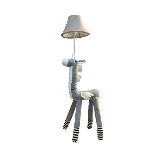 Staande lampen creatief Nordic woonkamer babykamer bedlampje LED verticaal cartoon blauw Unicorn vloerlamp