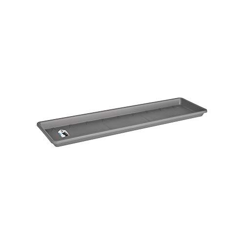 Elho Barcelona Xl Untersetzer 60 - Anthrazit - Draußen & Balkon - Ø 54.2 x H 3.5 cm