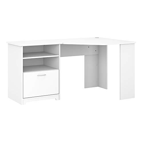 Bush Furniture Cabot 60W Corner Desk,...