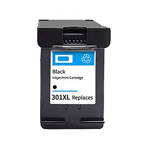 PUGONGYING Popular Fit de reemplazo 301XL para HP 301 XL HP301 Cartucho de Tinta Ajuste para HP DeskJet 2050 1000 1050 2510 3000 3054 Envy 4500 4502 Impresora Durable (Color : Black)